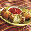 cheesy palak-paneer balls