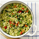 Methi Pulao (diet for anaemia)